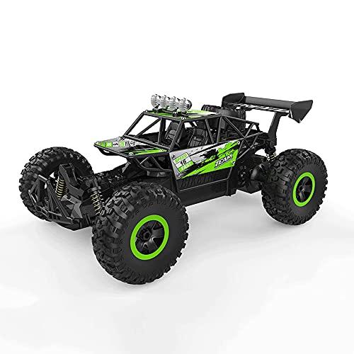 TTKD 1:14 Escala Completa 4 × 4 RC Car Mountain Cross Country Car 2WD High Speed Bigfoot 2.4G Buggy de Control Remoto Vehículo de Juguete de Peluche para niños Niño Camión Cum