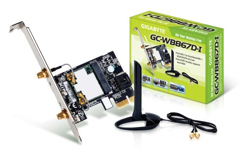 Gigabyte Bluetooth 4.0/WiFi Expansion Card Components Other GC-WB867D-I