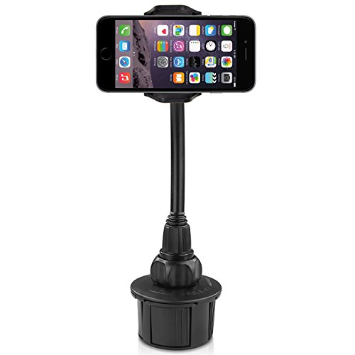 Macally MCUP2XL Car Cup Mount Holder with 20 cm Flexible Neck for...