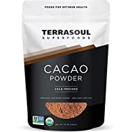 Terrasoul Superfoods Raw Organic Cacao Powder, 1 Lb - Raw   Keto   Vegan