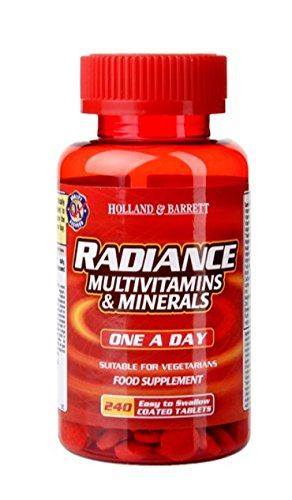 Holland and Barrett Radiance Multivitamins and Minerals (incl. Iron) - 240...