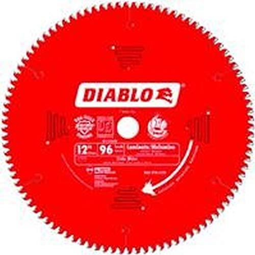 "Freud D1296N Diablo 12"" 96 Tooth TCG Non-Ferrous Miter Saw Blade 1"" Arbor"