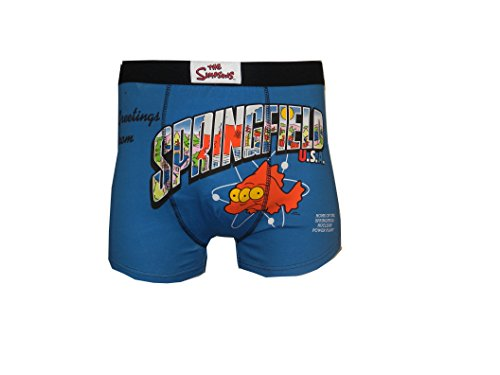 Mens 2 Pairs Simpsons Boxer Shorts Big (3XL)