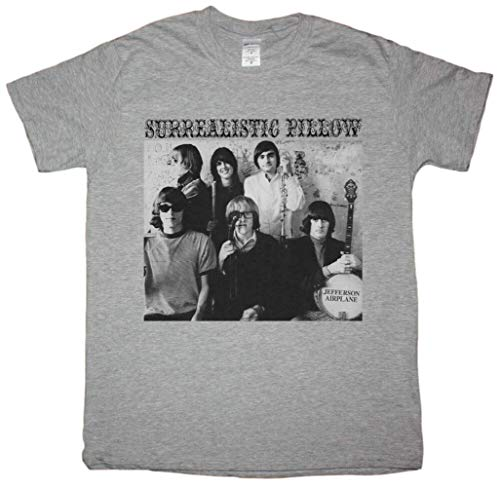 Jefferson Airplane Surrealistic Pillow Sport Grey T Shirt Acid Rock