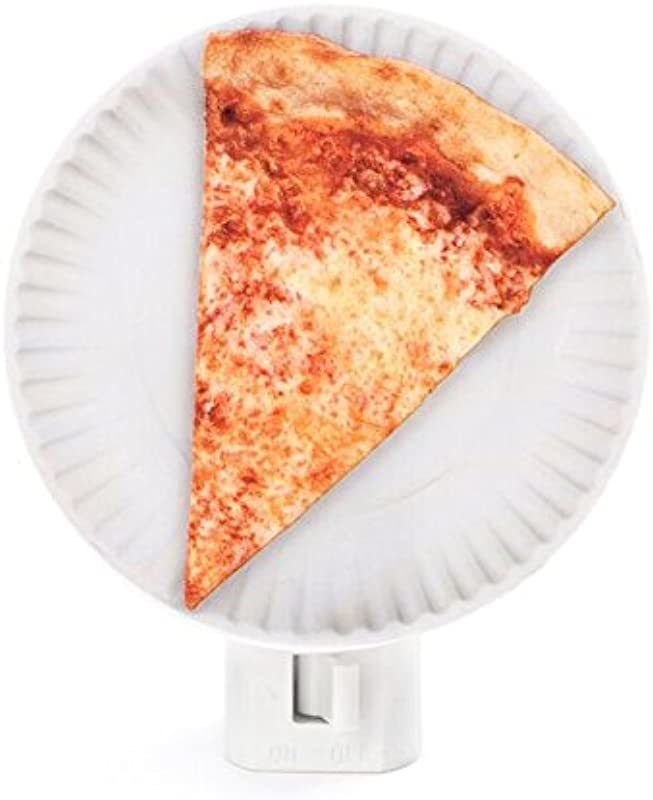 Kikkerland Night Light Pizza