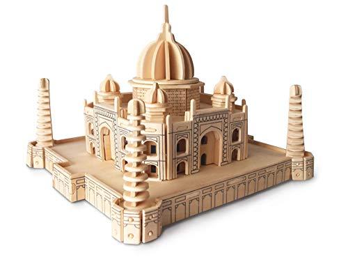 Quay- Taj Mahal Woodcraft Construction Kit FSC Costruzione, Colore Marrone, P210