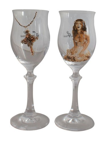 Victoria Frances wijnglas