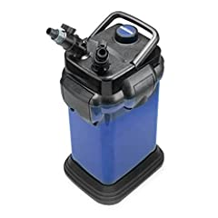 CASCADE CANISTER FILTER FOR FRESHWATER OR MARINE ENVIRONMENTS: the Cascade 1200 (CCF4UL) has 4 media baskets, works at 315 GPH, and is recommended for Aquariums up to 150 gallons. It measures 11.5 x 20.5 x 11 inches STATE OF THE ART FEATURES OF THE C...