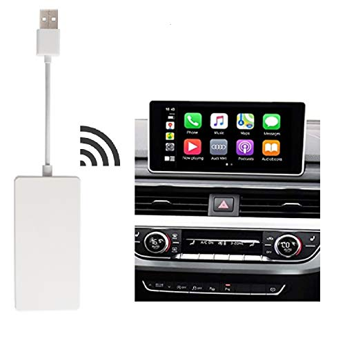 Vapeart Wired Carplay USB Dongle,Android Auto Mirroring,Smartphone Link Receiver Support Both Android and iOS Systems