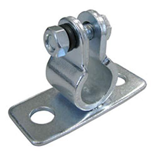Dörner + Helmer 3020 Guss-Auflageböckchen für Welle 20 mm Platte 80x34 mm verzinkt