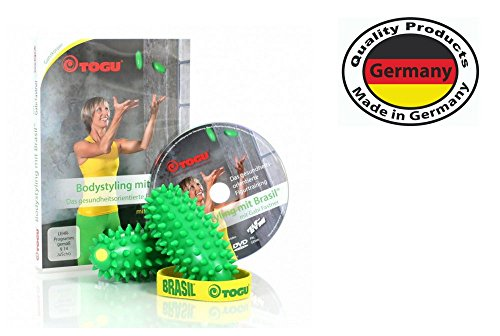 Togu Brasil 2er Set und DVD Bodystyling mit Gabi Fastner, Fitpack® Brasil Bodystyling