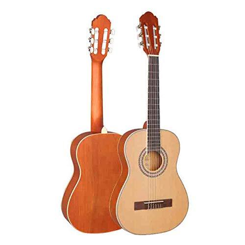 YXYOL Professionelle Konzertgitarren, Akustikgitarre, Kinder Acoustic Anfänger Nylon Stahlsaiten 6 Saiten Gitarre Upgraded, 34-Zoll-Full Size