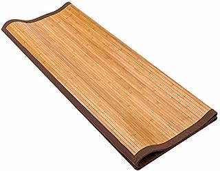 5' X 8' Floor Carpet, Bamboo Area Rug Floor Carpet Natural Bamboo Non-Slip Roll Runner Indoor Outdoor for Bathroom, Kitchen, Garden (Bamboo)