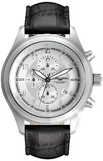 ヨーグ グレイ Jorg Gray JG4510 Men's Quartz Silver Dial Leather Strap Watch 男性 メンズ 腕時計 【並行輸入品】