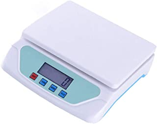 YCX Báscula de Cocina doméstica Multifuncional precisa con Pantalla Grande LED, báscula Digital con función de Aviso de batería de sobrecarga/bajo Voltaje
