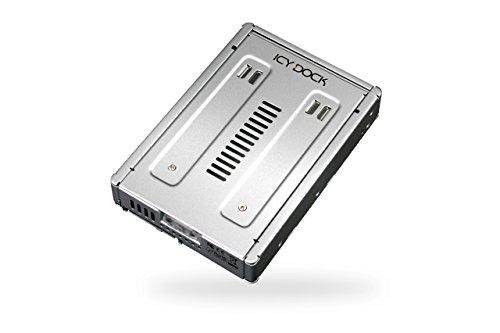 ICY DOCK EZConvert Pro MB982IP-1S-1 2,5 Zoll zu 3,5 Zoll SAS 3.0 12GBit SSD/HDD Konverter Adapter