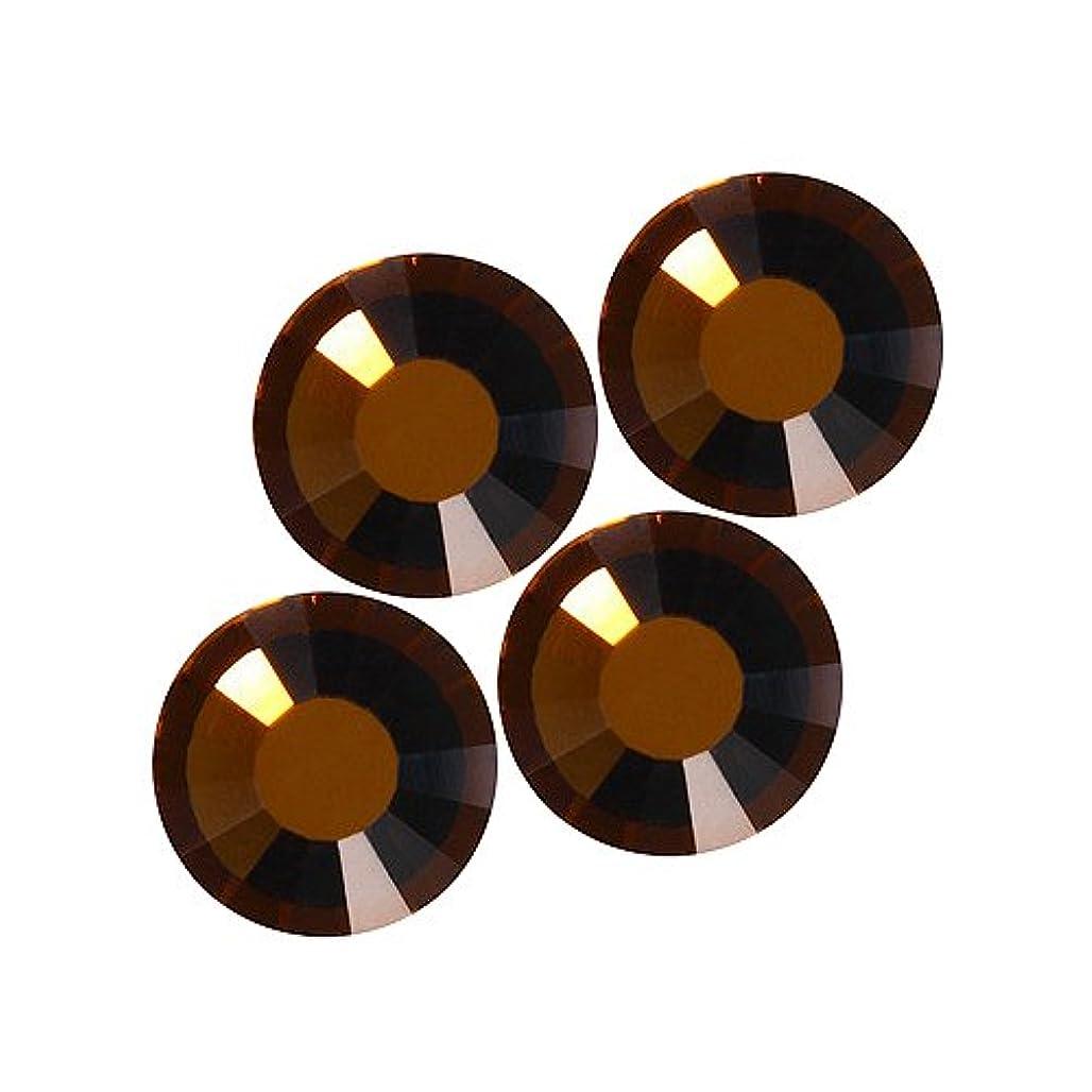 フェード圧倒する淡いバイナル DIAMOND RHINESTONE スモークトパーズ SS8 1440粒 ST-SS8-STP-10G