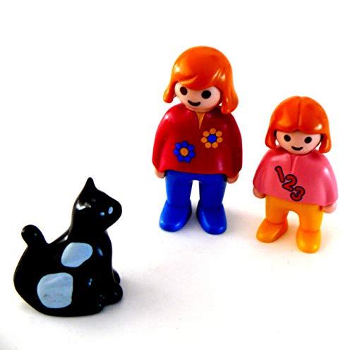 playmobil ® - Familie mit Liegestuhl Stuhl Sonnenschirm