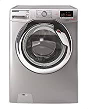 HOOVER DXOC17C3R-ELA Front Load Full Automatic Washing Machine, 7 Kg - Silver