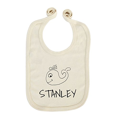 jollipets Baby enfants Bavoir – Stanley – 100% BIO organique – Variante : Animaux Zoo – Taille Unique