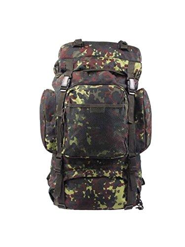 Sac à dos utilisation Trekking Tactical Camouflage 55L