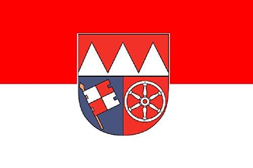 U24 Fahne Flagge Unterfranken 90 x 150 cm