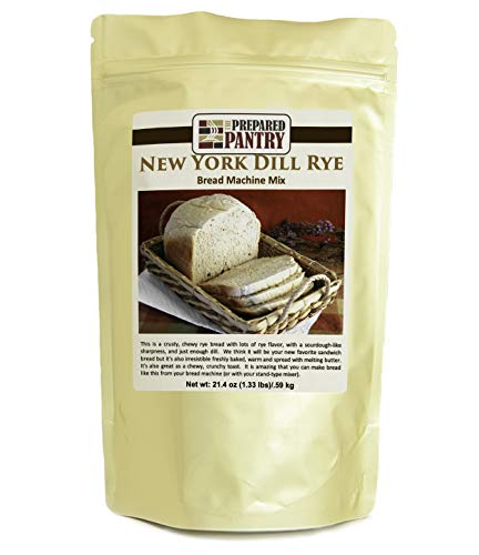 The Prepared Pantry New York Dill Rye Gourmet Bread Mix; Single Pack; For Bread Machine or Oven