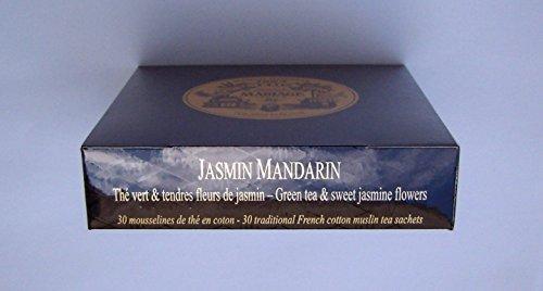 Desconocido Té Mariage FRÈRES - Jasmin Mandarin - 30 Sobres de algodón
