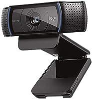 ロジクール ウェブカメラ C920n ブラック フルHD 1080P ウェブカム ストリーミング 自動フォーカス ステレオマイク 国内正規品 2年間メーカー保証 ブラック