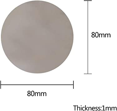 Translucent Off-White Polystyrene Round Rod Meets MIL-LP-516A 4 Length 3//8 Diameter