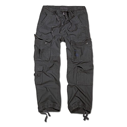 Brandit Hose Pure Vintage Trouser anthrazit Größe XXL