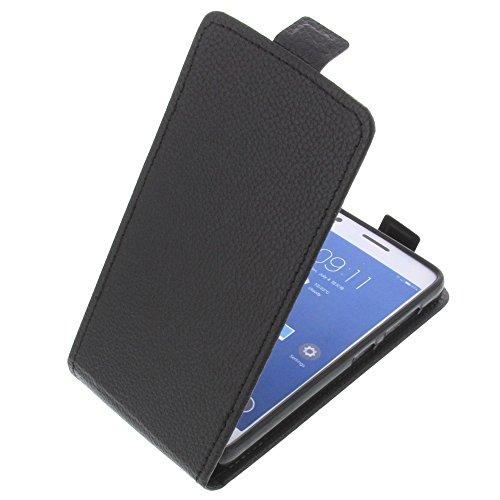 foto-kontor Tasche für ZUK Z2 Smartphone Flipstyle Schutz Hülle schwarz