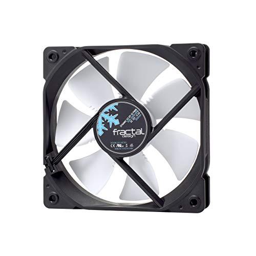 Fractal Design Dynamic X2 GP-12 PWM PC-behuizing, ventilator, koellichaam en ventilator (PC-behuizing, ventilator, 12 cm, 1200 U/min, 19,4 dB, 52,3 cfm)