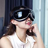 belik Eye Massager , Vibration and Music,Air Compression, Improving Blood Circulation and Sleep Quality,Temple Massager for Relieving Dry Eyes, Eye Fatigue