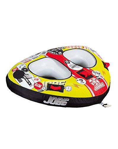 Jobe Double Trouble 2P - Flotador de Arrastre, Color Amarillo