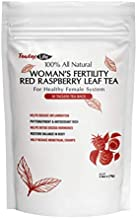Fertility Tea for Pregnancy with Red Raspberry Leaf for Prenatal Labor and Uterus Health| Caffeine Free - 30 Threadless Tea Bags | Made in USA