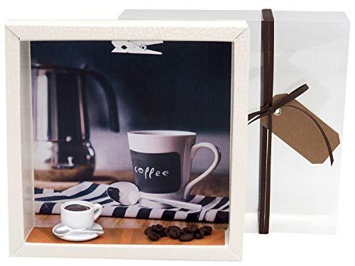ZauberDeko Geldgeschenk Verpackung Kaffee Frühstück Brunch Gutschein Einladung Geburtstag Weihnachten