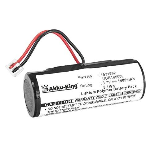 Akku-King Akku kompatibel mit Wella Xpert HS71, HS71 Profi, HS75 - ersetzt 1/UR18500L - Li-Polymer 1400mAh
