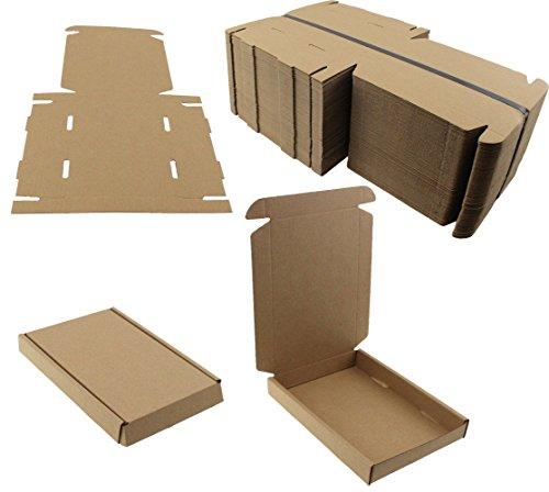 Made in UK–100Stück Kisten Versand Post aus stabiler Pappe–Format A6C616cm x 12cm x 2,2cm