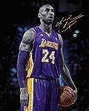 Póster de baloncesto con texto en inglés 'to The Memory of Kobe Bryant Bryant Bryant Bryant', tamaño 280 x 430 mm, acabado esmerilado, material de regalo decorativo para pared