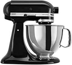 KitchenAid Artisan 4.8L Stand Mixer With Power Hub, 300W, Onyx Black - 5KSM150PSBOB