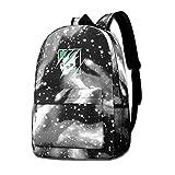 Rogerds Rainbow Six Siege Fashion Mochila de Portátil Starry Sky Backpacks Travel Daypack Bags for Hombre Mujer