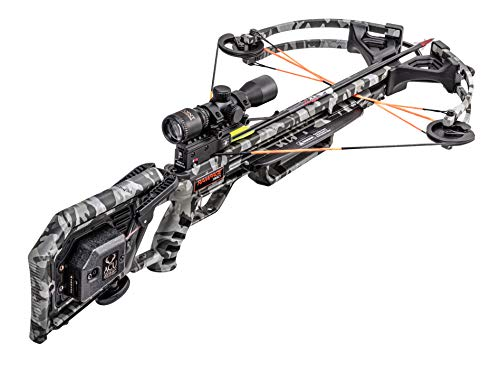 Wicked Ridge Rampage 360 Crossbow Package with Multi-Line Scope, Peak, ACUdraw Cocking Device