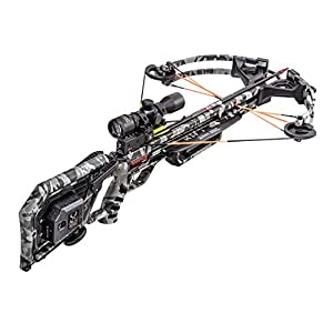 TenPoint Wicked Ridge Rampage 360 Crossbow Package with Multi-Line Scope, Peak