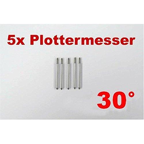 5 x 30° plottermesser pour roland helo secabo et autres traceurs traceur de découpe: Amazon.es: Juguetes y juegos