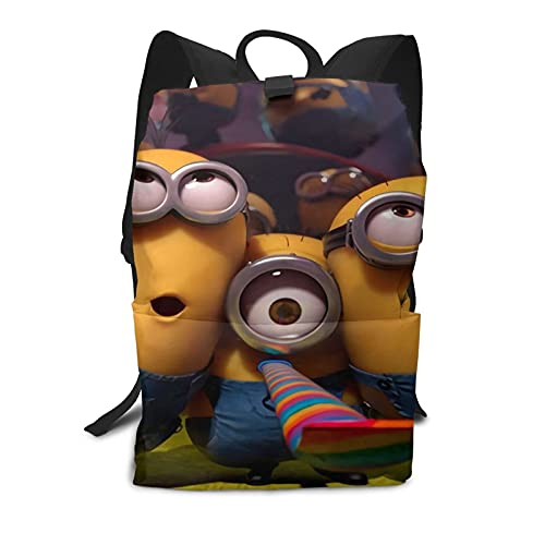 Des-picable Me - Mochila para hombre y mujer, mochila escolar informal