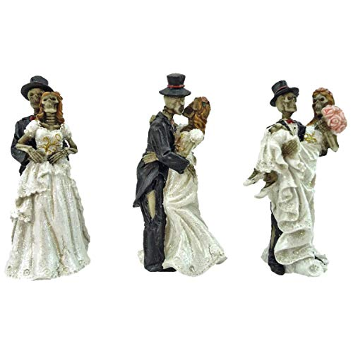 Joh.Vogler GmbH 3er Set Skelett Brautpaar