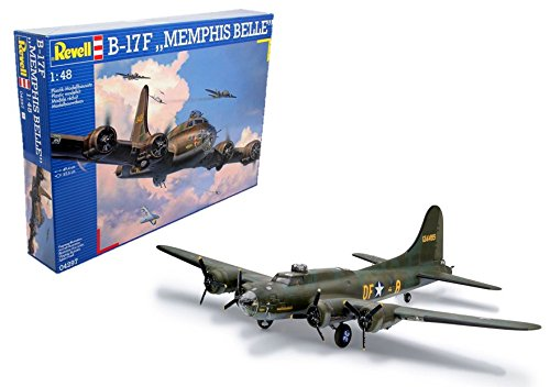 Revell 04297 B-17F Memphis Belle Flying Fortress Model Kit