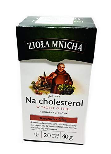 Hierbas del Monje para el colesterol (Te verde,espino, alcachofera...)40 grs