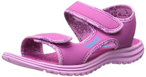 Teva Tidepool Kids Sport Sandal (Toddler/Little Kid/Big Kid), Pink/Blue, 6 M US Big Kid